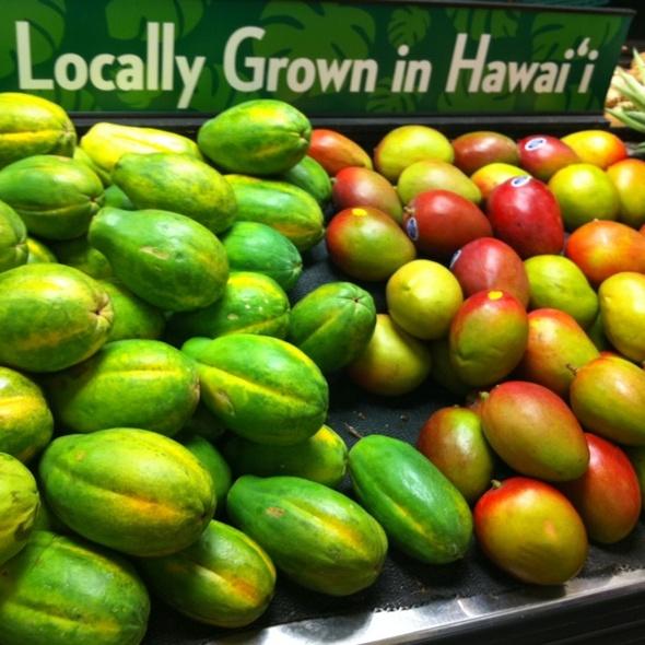 Eat Local menu (shopping list & recipes) @ Foodland
