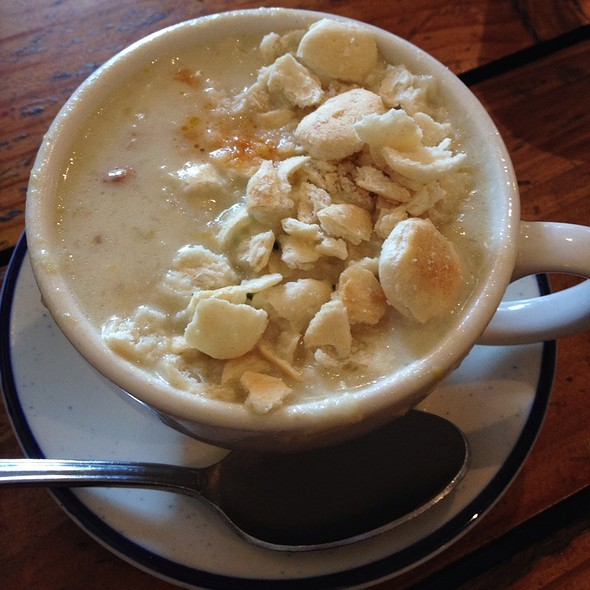 White Clam Chowder @ Fish