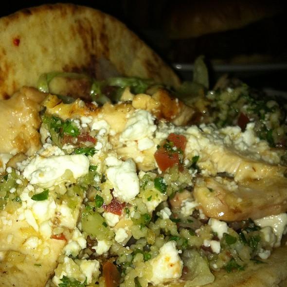 Mediterranean Chicken Pita - Hudson Grille - Sandy Springs, Sandy Springs, GA