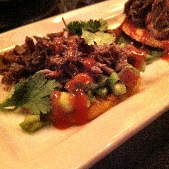 Short Rib Arepas - Paladar Latin Kitchen & Rum Bar, Annapolis, MD