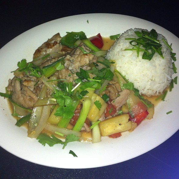 Sweet And Sour Pork Stir Fry @ One Ten Thay
