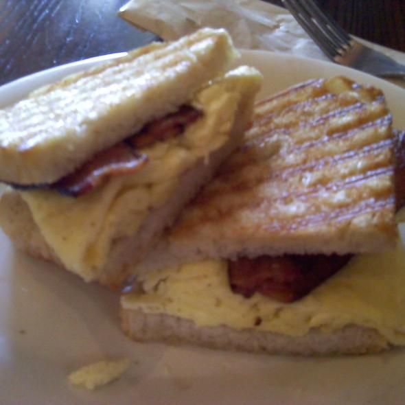 breakfast panini @ Corner Bakery Store