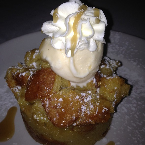 Bread Pudding - Del Frisco's Double Eagle Steak House - Houston, Houston, TX