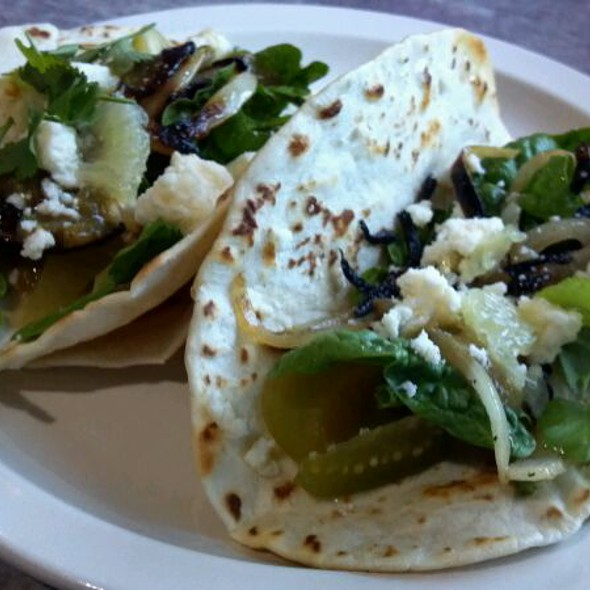 Veggie Tacos @ Fork in the Road; Local Artisan Diner