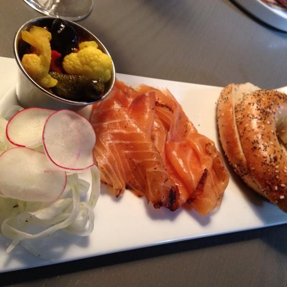 Salmon Pastrami @ Fishtag