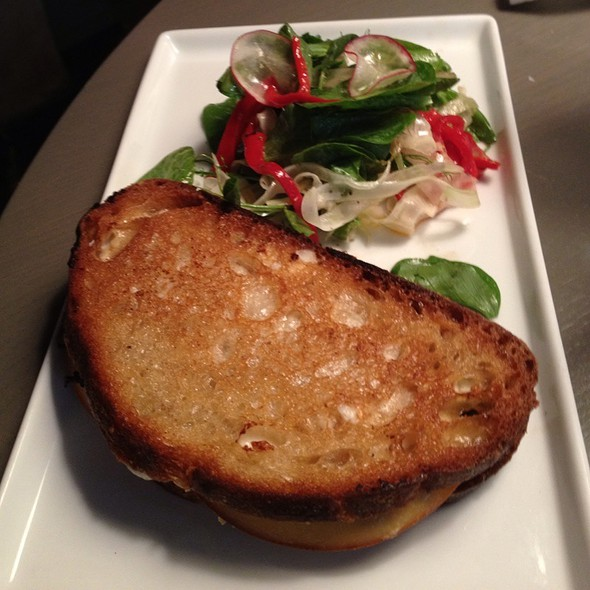 Short Rib Grilled Cheese Sandwich @ Fishtag