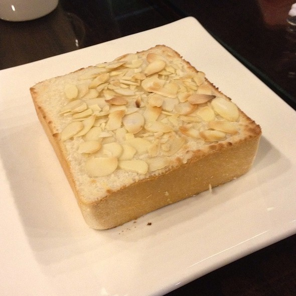 Almond Coconut Toast @ Saint's Alp Teahouse