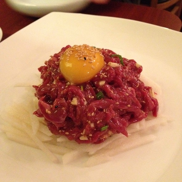 Raw Beef @ To Hyang