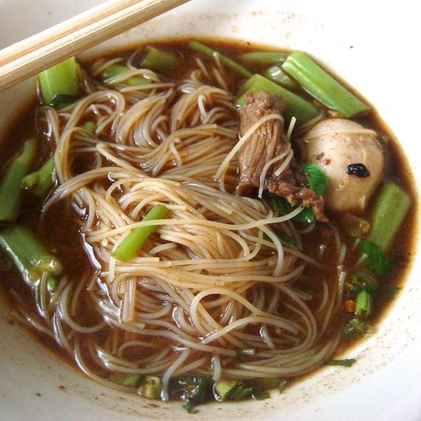 Thai Boat Noodle @ ก๋วยเตี๋ยวเรือนายหงอก บ้านสวน (Nai Ngok)