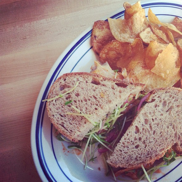 Turkey Breast Sandwich @ Publican Quality Meats