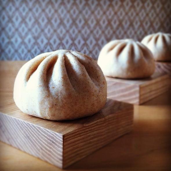 Whole Wheat Edamame Bao @ Wow Bao