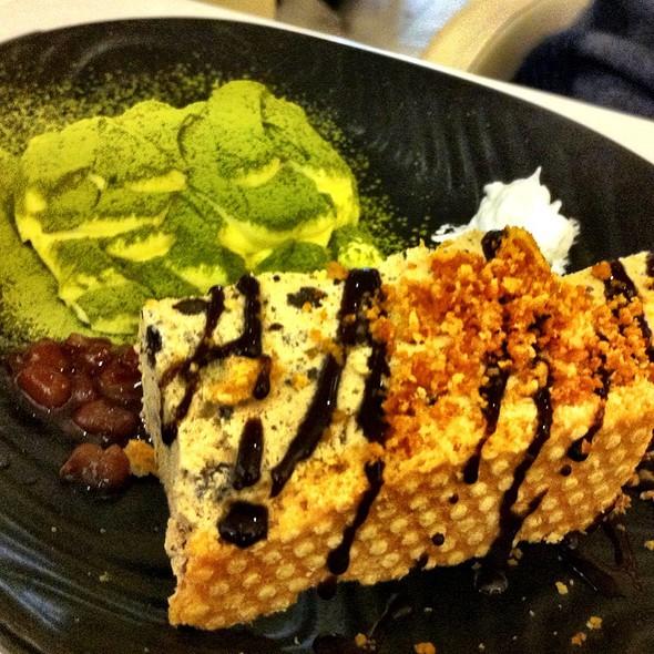 Deconstructed Tiramisu  @ Pokka Cafe