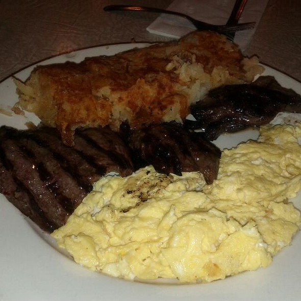 Steak and Eggs @ Kane's Diner