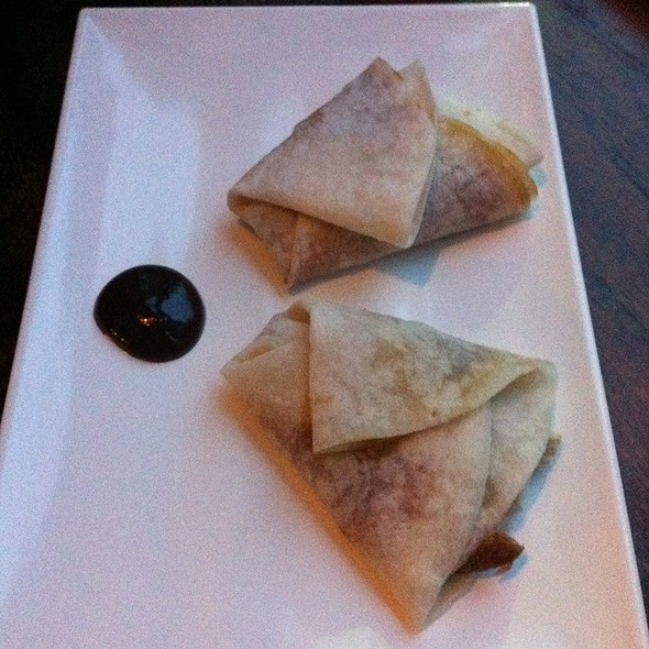 Peking Duck Pancakes @ Bamboo Dumpling Bar