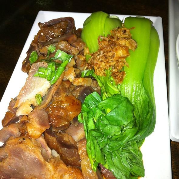 Pork Belly And Greens @ Bamboo Dumpling Bar