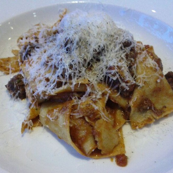 Pappardelle with Beef Cheek Ragu @ Grappa Ristorante & Bar