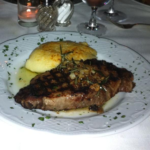 Boneless New York Shell Steak - Barbetta Restaurant, New York, NY
