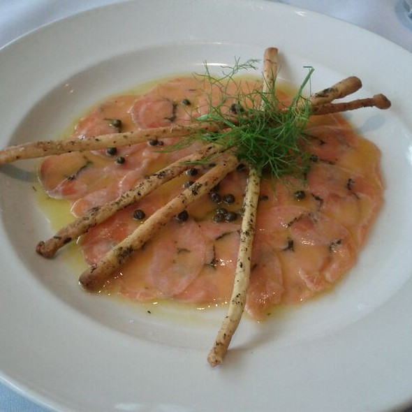 Atlantic Salmon Carpaccio @ Grappa Ristorante & Bar