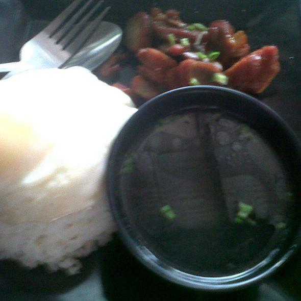 Asado Pork Rice