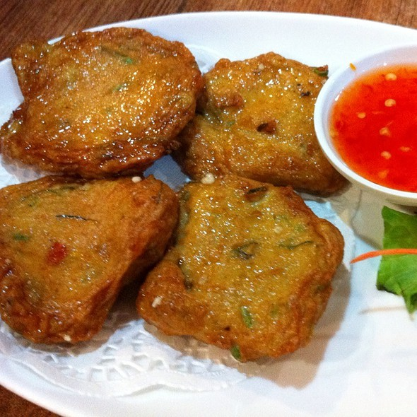 Thai Fish Cakes @ Bangkok House