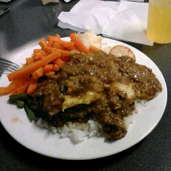 White Rice With Meat Stew @ Holsworthy NSW