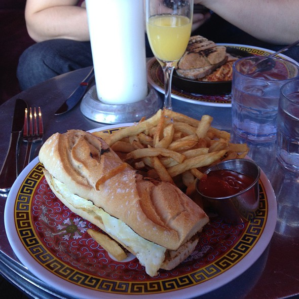 Breakfast Sandwich @ 230 5th Ave, New York, NY 10010