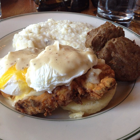Fried Chicken Benedict @ Parish Restaurant