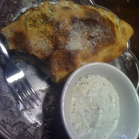 Gyro Calzone @ Layla's Gyros & Pizzeria