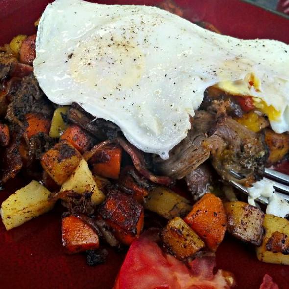 Pulled Pork And Sweet Potato Hash @ Sugar Mamas Coffee Cafe