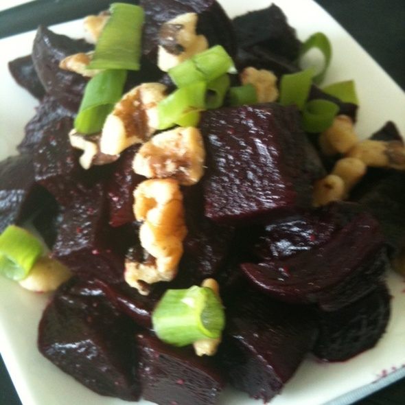 Roasted Ruby Beet Salad @ Health Fare Restaurant