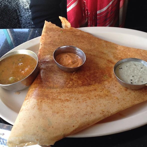 Mysore Rava Masala Dosa @ Udupi Madras Cafe