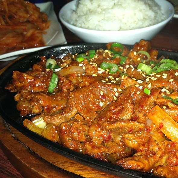 Spicy Pork Bulgogi @ Sakebob Barbeque