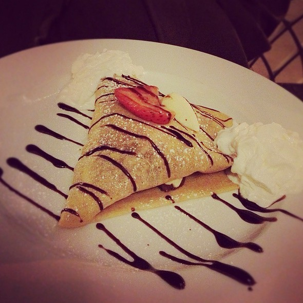 Romeo et Juliet Crepe @ La Creperie Cafe