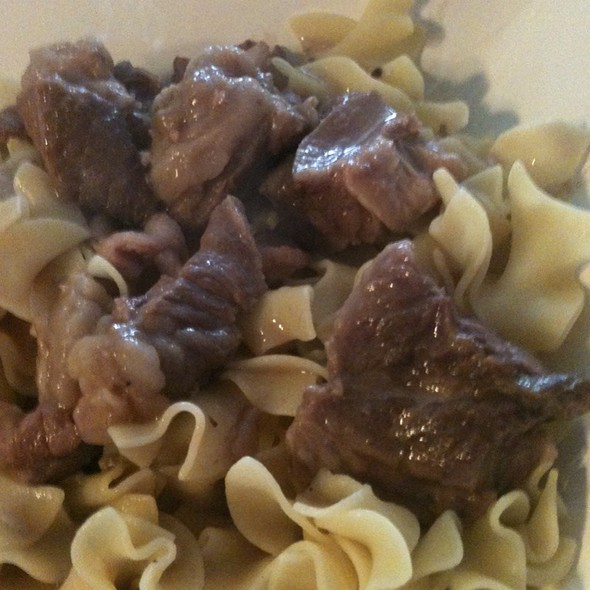 Beef & Noodles @ Balcony Grill