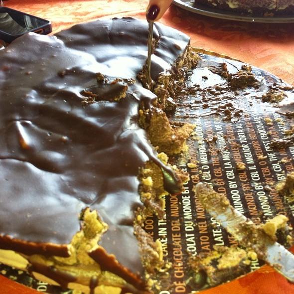 Porción Tarta Tradicional @ La Mejor Tarta De Chocolate Del Mundo