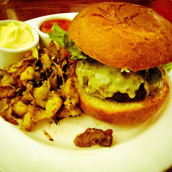 "Grilled ""Four Mile River Farm"" Hamburger @ Firebox Restaurant"