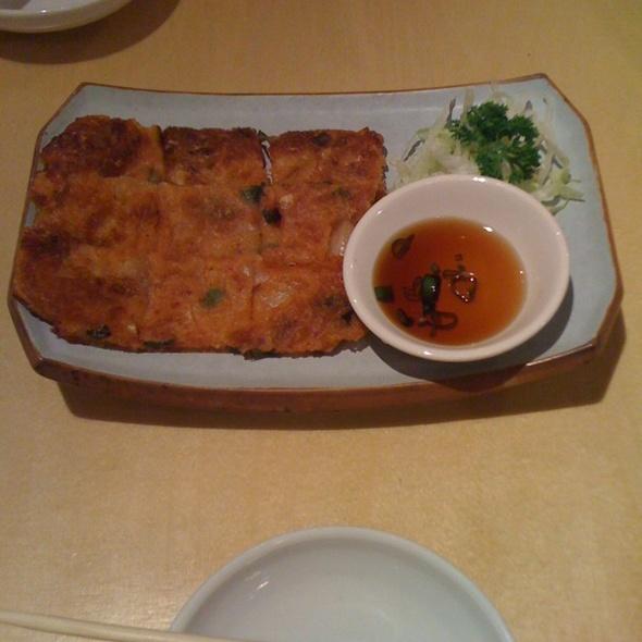 Kimchi Pancake @ Bibimbap Soho