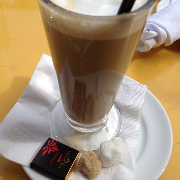 Non-Fat Latte @ Left Bank Brasserie