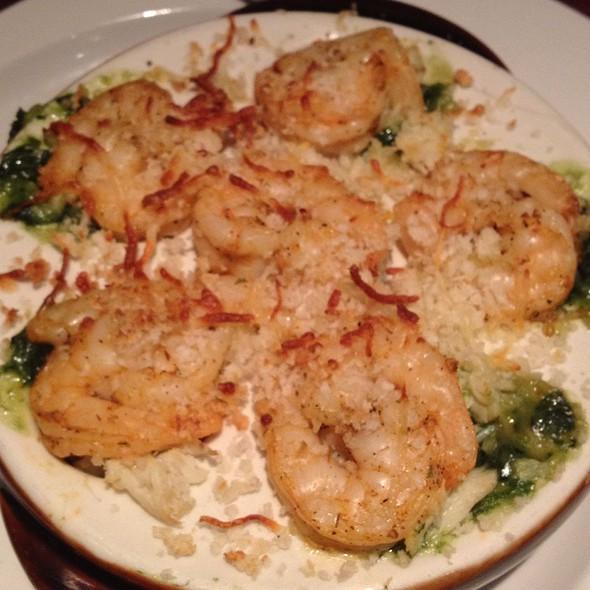 Roasted Shrimp, Lump Crab & Spinach Stuffed Mushrooms - Seasons 52 - Phoenix, Phoenix, AZ