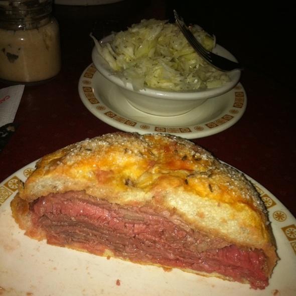 Beef on Weck @ Schwabl's Restaurant