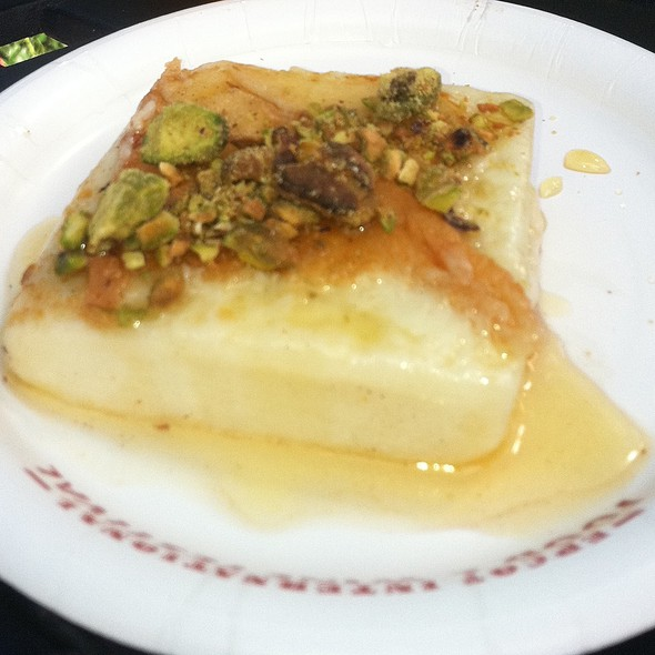 Griddled Greek Cheese with Pistachios and Honey @ Epcot International Food & Wine Festival 2011