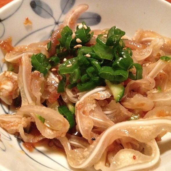 Pig Ear In Garlic Soy Sauce @ Shin Okinawa Izakaya