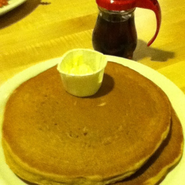 Pumpkin Pancakes @ Kerbey Lane Cafe