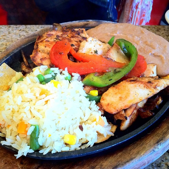 Chicken Fajitas @ Gloria's Restaurants