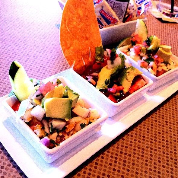 Ceviche Trio @ Gloria's Restaurants