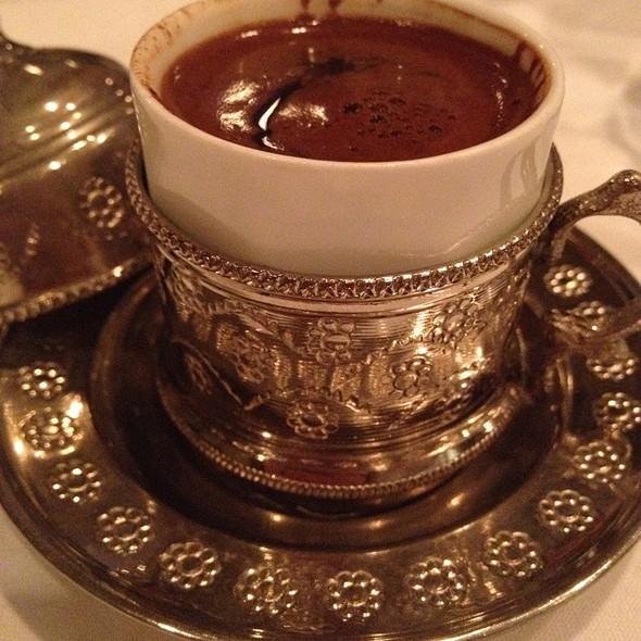 Turkish Coffee - GG's Bistro, Laguna Beach, CA