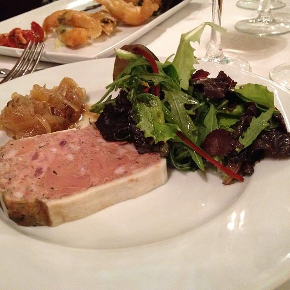 Pan-Seared Foie Gras w/ Raisin Chutney @ Julien