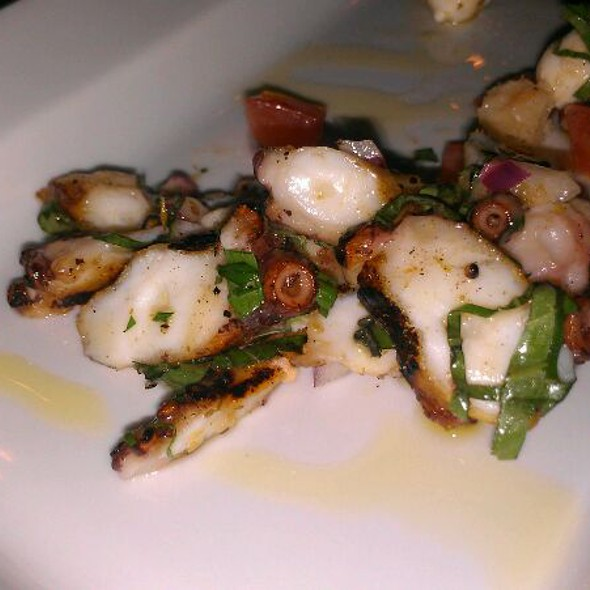 Wood Charred Octopus And Panzanella Salad
