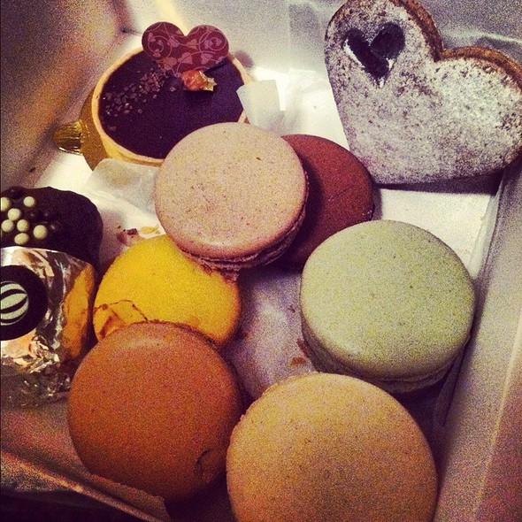 Assorted French Macaroons @ Bouchon Bakery