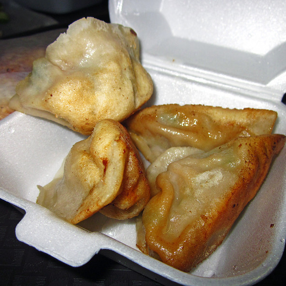 Fried Pork And Chive Dumplings @ Vanessa's Dumplings